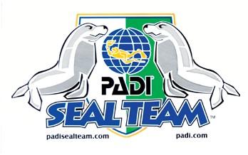 PADI Decal - PADI Seal Team