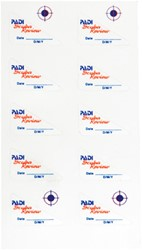 PADI Decals - Scuba Review, 10 per sheet