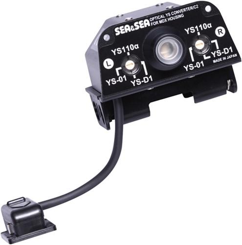 Sea & Sea Optical YS-Converter/C2 Voor MDX Behuizing (Voor Canon MDX-7D Mark II)