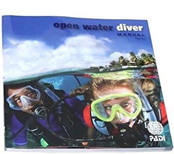 PADI Manual - O/W with Dive Comp Simulator Access (Danish)