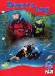 PADI Diver's Log, Red