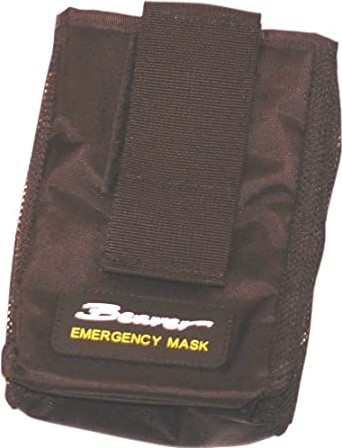 Beaver Emergency Mask Pouch