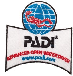 PADI Emblem - Advanced Open Water Diver