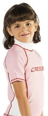 Cressi Rash Guard Jr Pink 8 Age