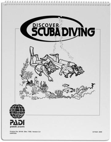 PADI Flip Chart - Discover Scuba Diving (Portuguese)