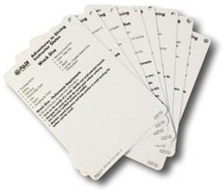 PADI Cue Cards - AOW Instructor