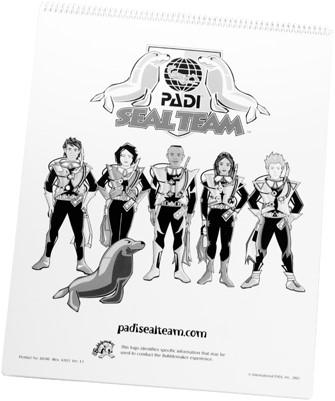 PADI Flip Chart - PADI Seal Team (Dutch)