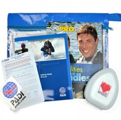 PADI Crewpak - Rescue Diver, with Pocket Mask