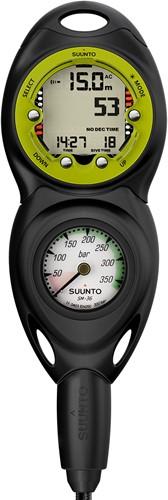 Suunto CBTwo in line/300/Zoop Novo Lime Combo duikcomputer