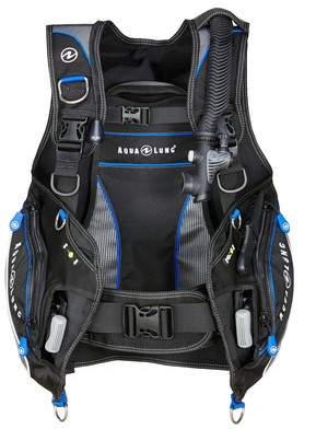 Aqualung Pro HD blk/charc/blue L trimvest