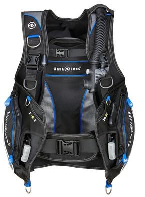 Aqualung Pro HD blk/charc/blue XL trimvest