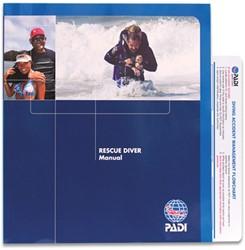 PADI Rescue boek