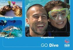 PADI Brochure - Go Dive