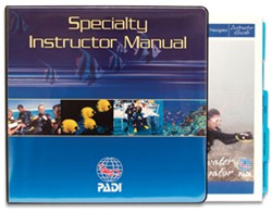 PADI Manual - Specialty Course Instructor Outlines