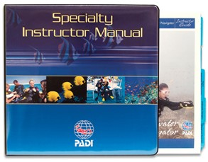 PADI Manual - Specialty Course Instructor Guides