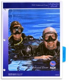 PADI Instructor Guide - Sidemount Diver, without Binder (French)