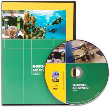 PADI DVD - Enriched Air Diving, Computer Use (Portuguese)