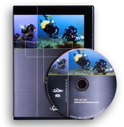 PADI CD-ROM - Tec 40 CCR Instructor Trainer Guide