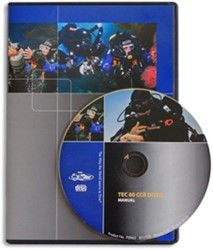PADI CD-ROM - Tec 60 CCR Diver, Manual
