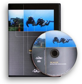 PADI CD-ROM - Tec 40 CCR Instructor , Lesson Guides