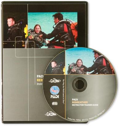 PADI CD-Rom - PADI Rebreather, Instructor Trainer Guide