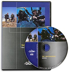 PADI CD-ROM - Tec 100 CCR, Diver Manual
