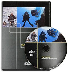 PADI CD-ROM - Tec 100 CCR, Lesson Guides