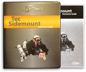 PADI Instructor Guide - Tec Sidemount, with Binder