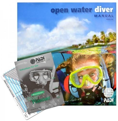 PADI Open Water Boek Met Duiktabel