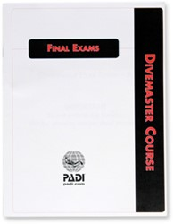 PADI Exam - Divemaster, Final, Metric/Imperial