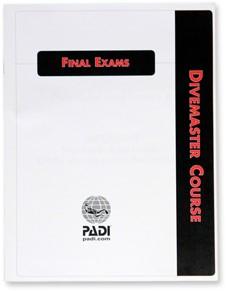 PADI Exam - Divemaster, Final, Metric/Imperial (Korean)