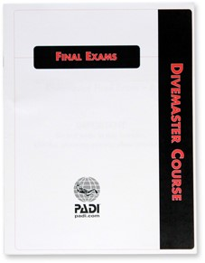 PADI Exam - Divemaster, Final, Metric/Imperial (Polish)