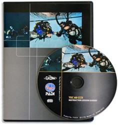 PADI CD-ROM - Tec 60 CCR, Instructor Lesson Guides