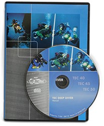PADI DVD-ROM - Tec Deep Diver Manual
