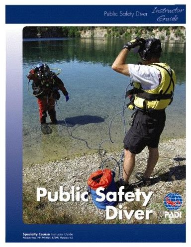 PADI CD-Rom - Public Safety Diver Lesson Guides
