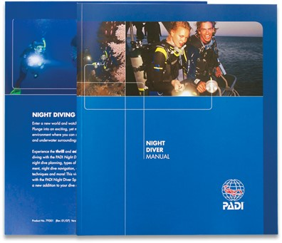 PADI Manual - Night Diver (Spanish)