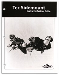 PADI Instructor Trainer Guide - Tec Sidemount, without Binder