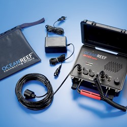 Ocean Reef M-105 Digital  Dual Channel Transceiver. Surface Unit W/Battery Tester  110/220V