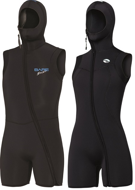 Bare 7mm Sport S-flex - Nixie hooded vest
