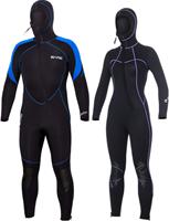 Bare 7mm duikpak sport S-Flex - Nixie Hooded Full