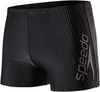 Speedo E10 Gala Logo Aqs Bla/Gre 34 (Nl5)
