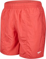 Speedo Solid Leisure 16 Red Xl