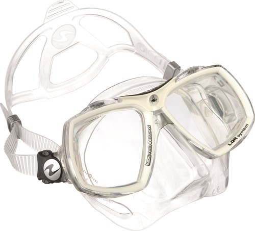 Aqualung Look 2 TS White Arctic duikbril