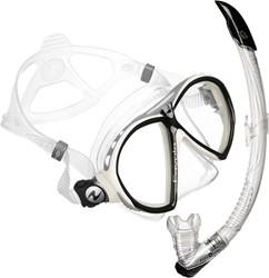 Aqualung Favola Zephyr snorkelset wit