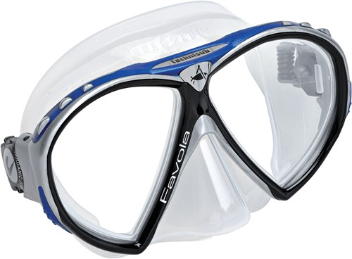Aqualung Favola TS Silver/Blue duikbril