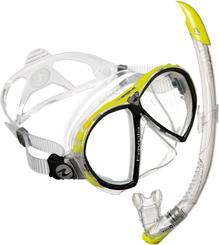Aqualung Set Favola + Zephyr Hot Lime