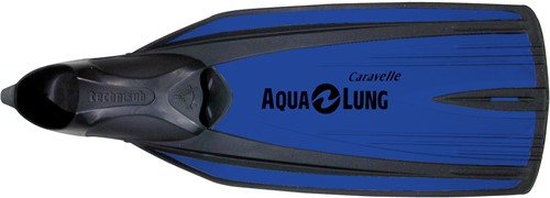 Aqualung Caravelle Metallic Blue 28/29 snorkelvinnen