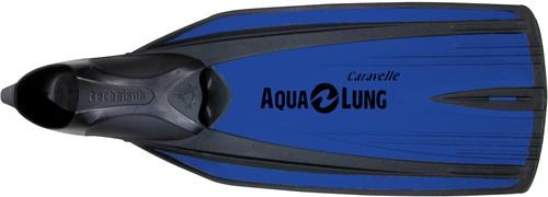 Aqualung Caravelle Metallic Blue 32/33 snorkelvinnen