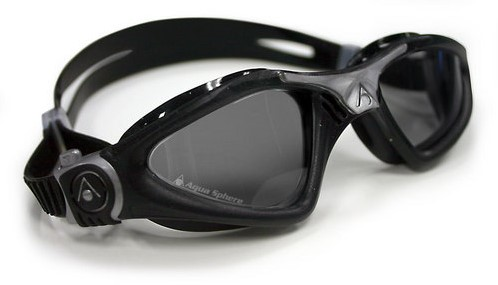 Aquasphere zwembril Kayenne Dark Lens Black/Silver