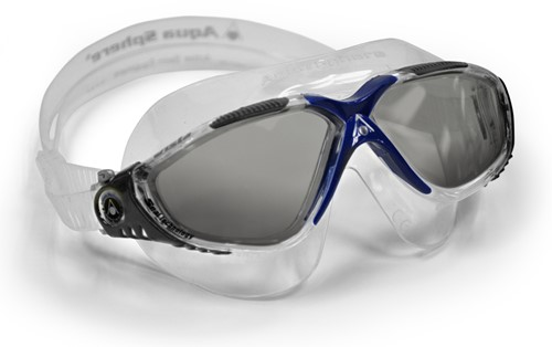 Aquasphere zwembril Vista Dark Lens Clear/Dark Grey